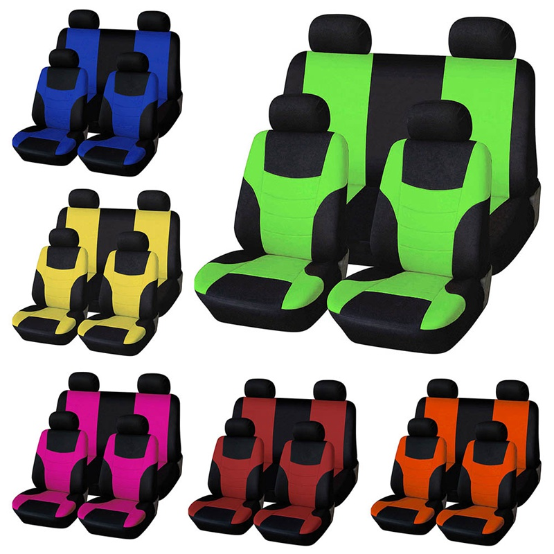 Car-Seat-Covers Interior-Accessories Universal Most-Brand 4 4-Color Fits Vehicle title=
