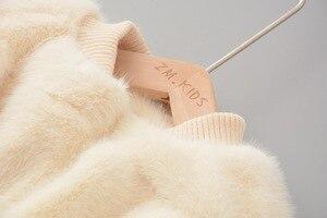 Image 5 - Chaqueta y abrigo de invierno para bebés y niñas ropa de invierno de piel sintética, abrigo cálido para bebés, ropa de abrigo para bebés