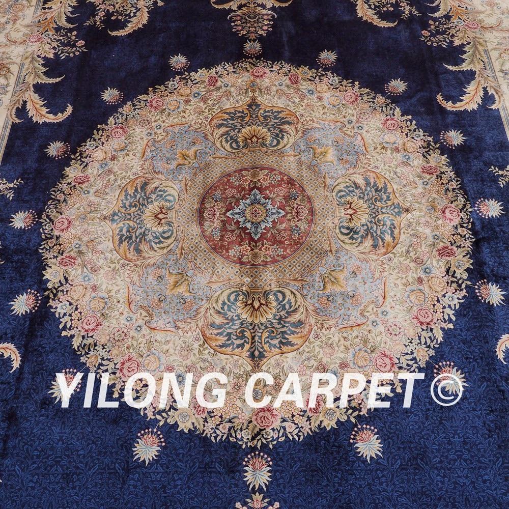 Yilong 10 X14 Oriental Tapis Moderne Grand Aubusson Conception