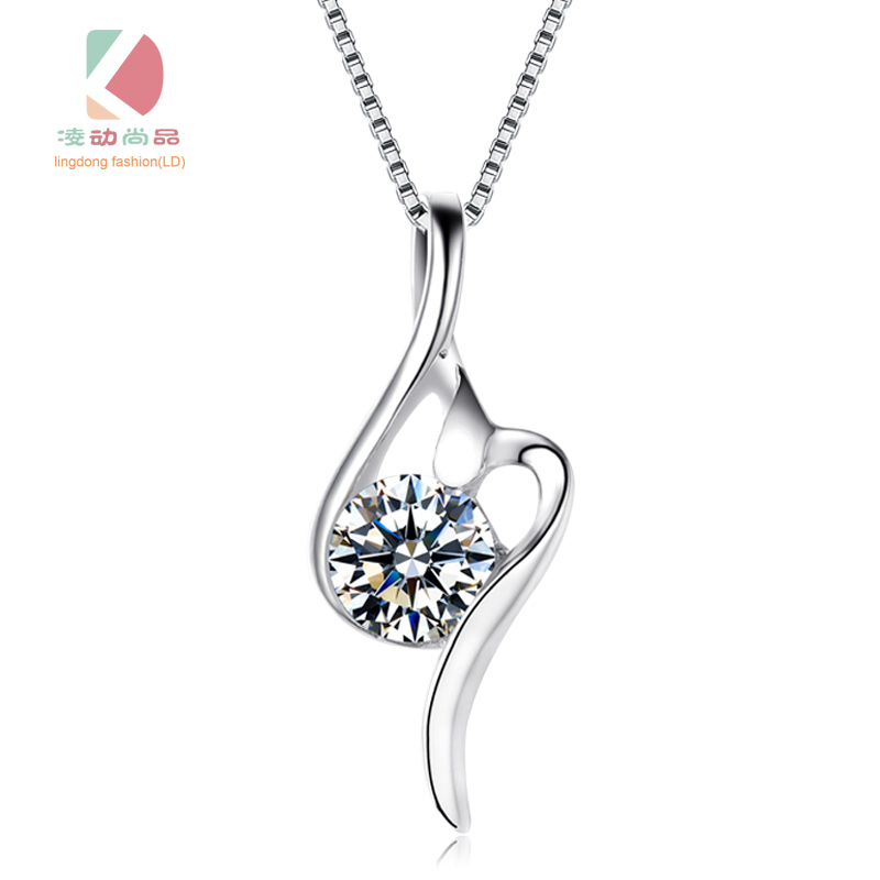 s925 silver pendant aquair series simple sexy necklace boutique festival creative gift Lingdong Fashion brand
