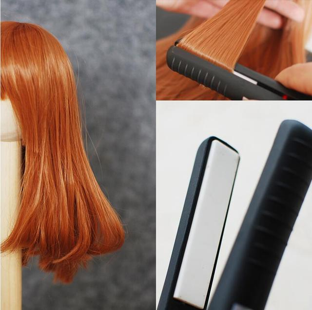 BJD wig high temperature dress up tool BJD make up tools curly hair straightening roll blyth doll accessories