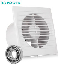 14W Silent Ceiling Extractor Fan Bathroom Exhaust Fan for Window Wall Toilet Kitchen Ventilating Air Ventilation Device 220/110V 380v 270w industrial exhaust fan negative pressure blowers for factory greenhouse air ventilation fan device