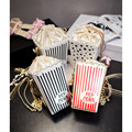 EXCELSIOR 2016 New Arrive women's handbags Sweet girls popcorn   Messenger Bag Personalized chain Crossbody Bags Women Bag G0954