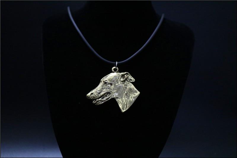 Купить ожерелье с изображением собаки колье ручной работы украшения