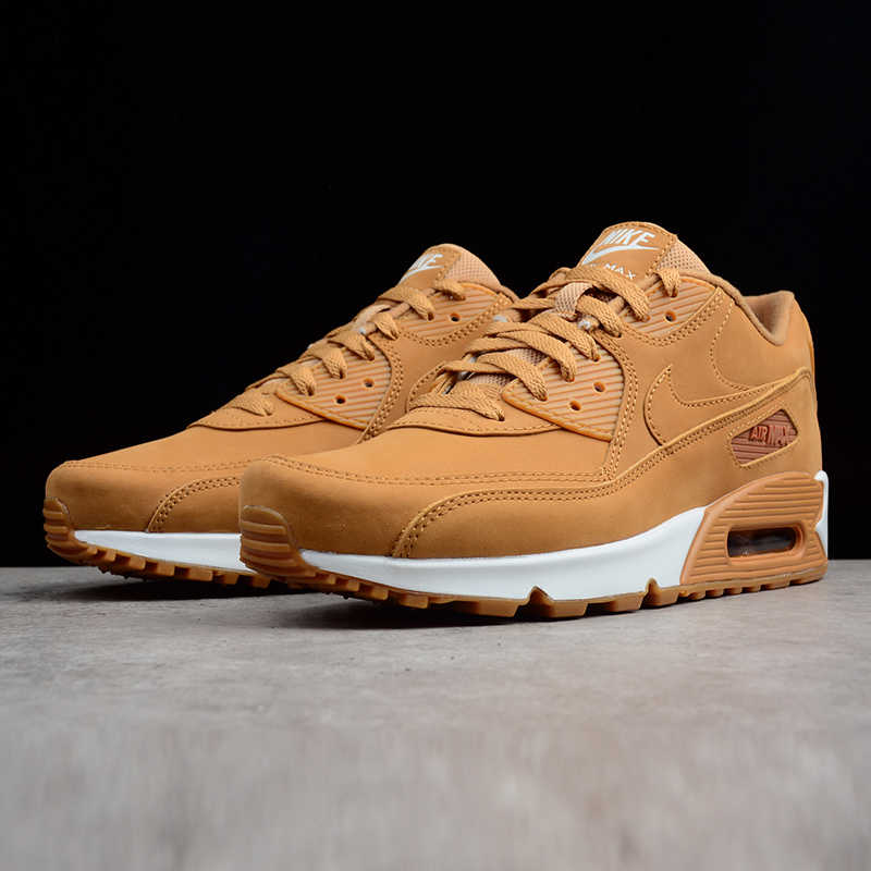 91f42383c6 ... Nike Air Max 90 Essential Men's Running Shoes,Outdoor Sneakers Shoes,  Yellow, Shock ...