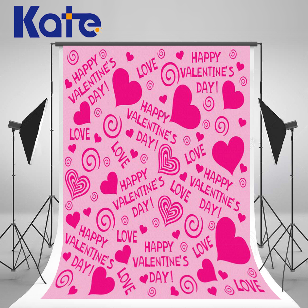 Photography Background 300Cm*200Cm Love Pink Love Valentine'S Day Thick Cloth Backdrops For Photography Zj 8x10ft valentine s day photography pink love heart shape adult portrait backdrop d 7324