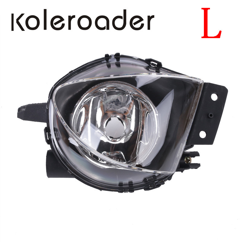 Car Fog Light Front Bumper Clear Fog Light For BMW E90 E91 325i 328i 330i 335i 2006 - 2008 63176948373 // спойлер bmw e90 318i 320i 325i 330i m3
