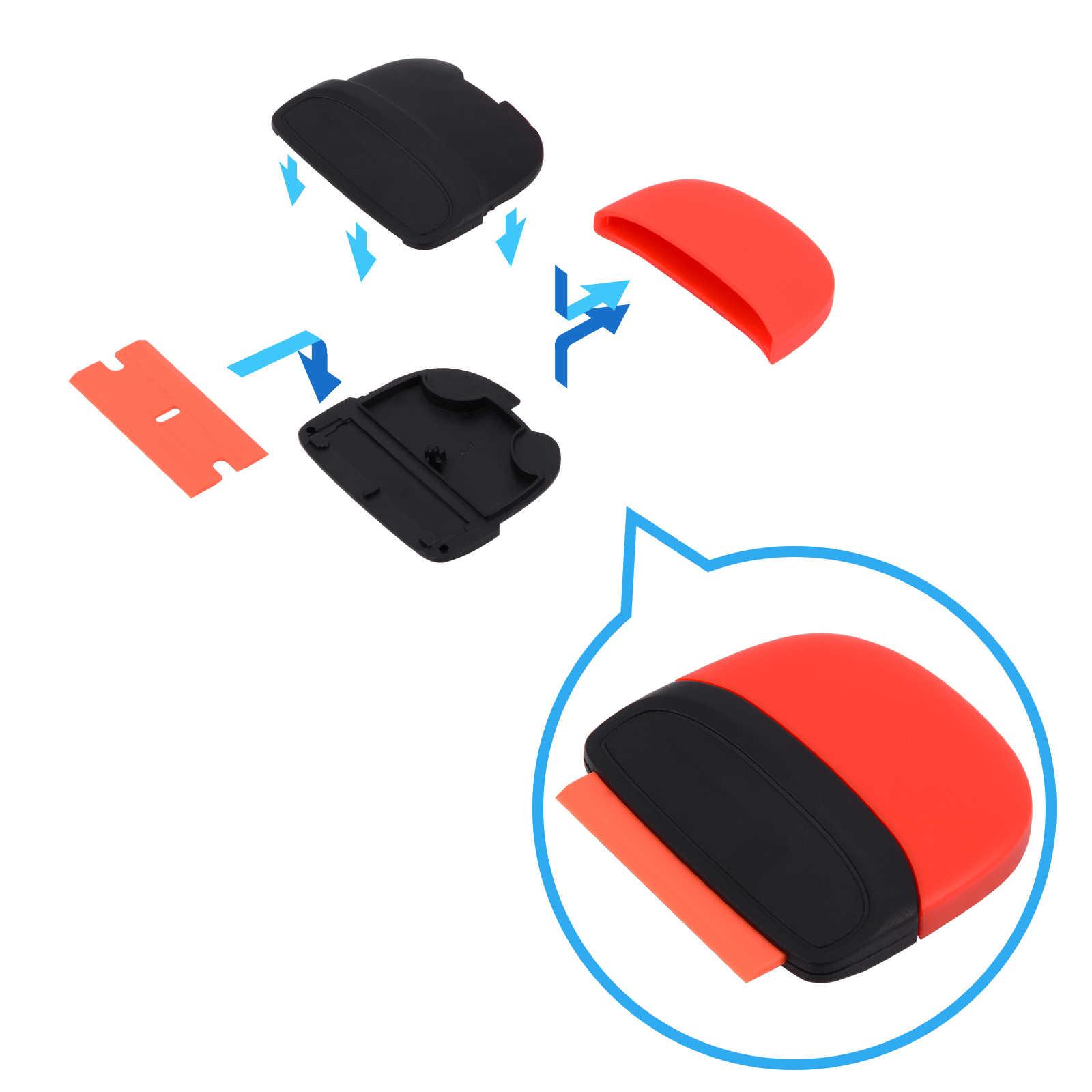 EHDIS Auto Rasoio Strumenti Raschietto In Fibra di Carbonio Del Vinile Autoadesivo di Rimozione Avvolgere Seccatoio Auto Wrapping Foglio di Pellicola Automobili Accessori