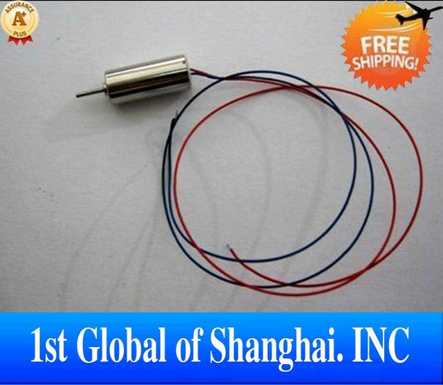 Free Shipping V911-20 Tail motor set  for WL V911 RC Helicopter Spare Part Accessory