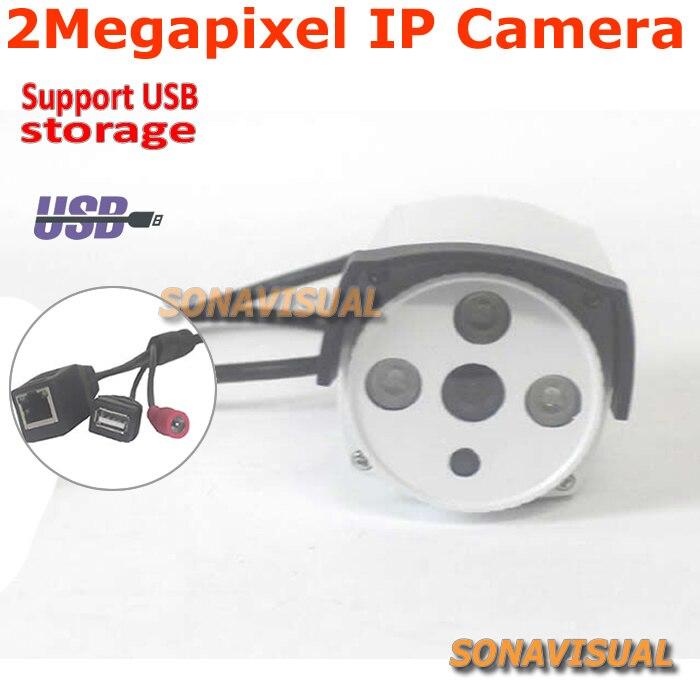 ФОТО Full HD 1/2.8'' CMOS SONY Exmor IMX122 2MP USB IP Camera 1080P 2 Megapixel With Motion Detect H.264/Onvif/P2P Bullet IP Camera