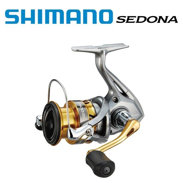 2017 SHIMANO SEDONA  1000 C2000S 2500HG C3000HG 4000XG C5000XG 6000  gear ratio 5.0:1/6.2:1 Front Drag Spinning Reel G-Free Body