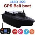 Actualizado hoja de metal cubierta JABO 2CG 20A 10A GPS retorno automático de barco de cebo de pesca de piloto automático 2,4G GPS buscador de peces barco de cebo