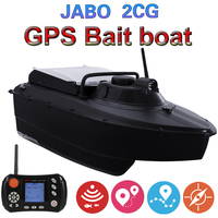 Upgraded JABO 2CG 36A 20A 10A GPS Sonar Auto Return Fishing Bait Boat 2.4G GPS Sonar Fish finder bait boat(8nests)