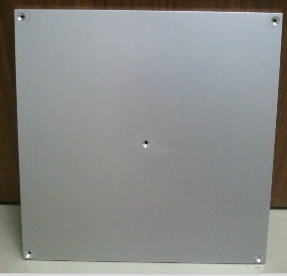 3 D printer accessory PCB hot bed Aluminum plate/panel 220*220*3mm for Mk2a Mk2b 5 holes top quality free shipping