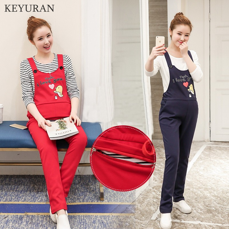 New Arrival Maternity Clothes Overalls For Pregnancy Mothers Women Jumpsuits Pregnant Casual Pants Cotton Trousers Clothing Y256 цена