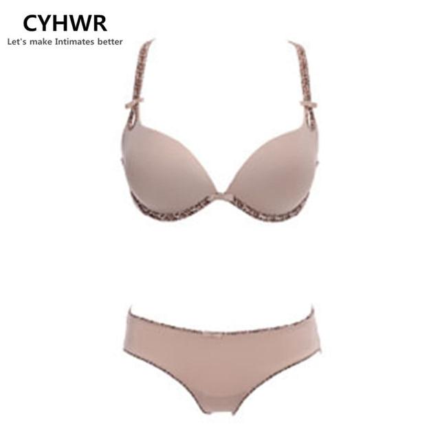3cbed6b909 NEW 2017 Top Quality Seamless Bra   brief Set Women Bra Set Underwear Sexy  VS Push