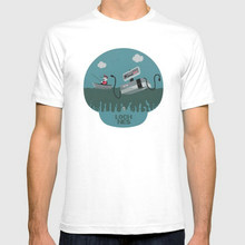 """Awesome Nintendo's """"Loch NES monster"""" T-shirt"""