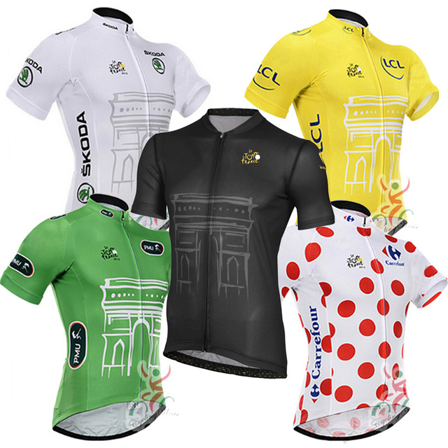 2018 Tour de france cycling jersey short sleeve MTB Bike Clothing  Breathable Wear cycle clothes Maillot Ropa Ciclismo Uniformes 003a19193