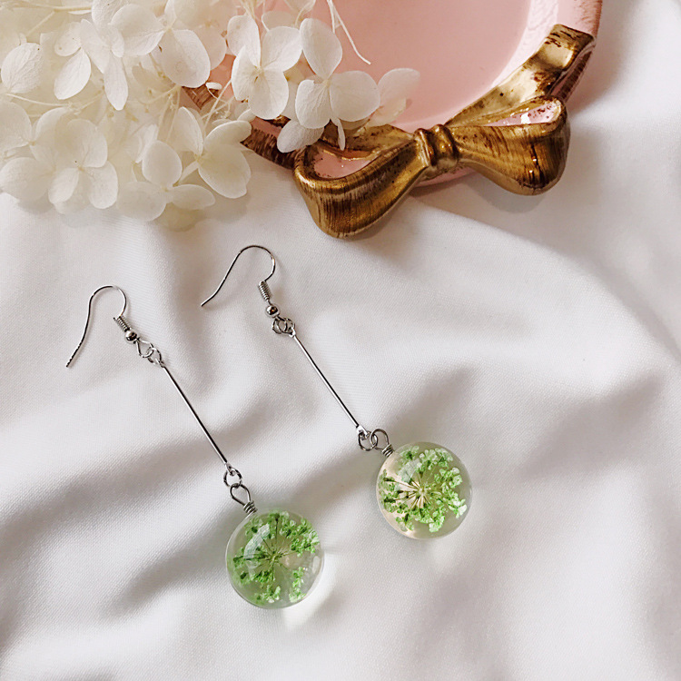 diamond-minecraft-diamond-real-dried-flower-earrings-for-women-real-flower-earrings-earring