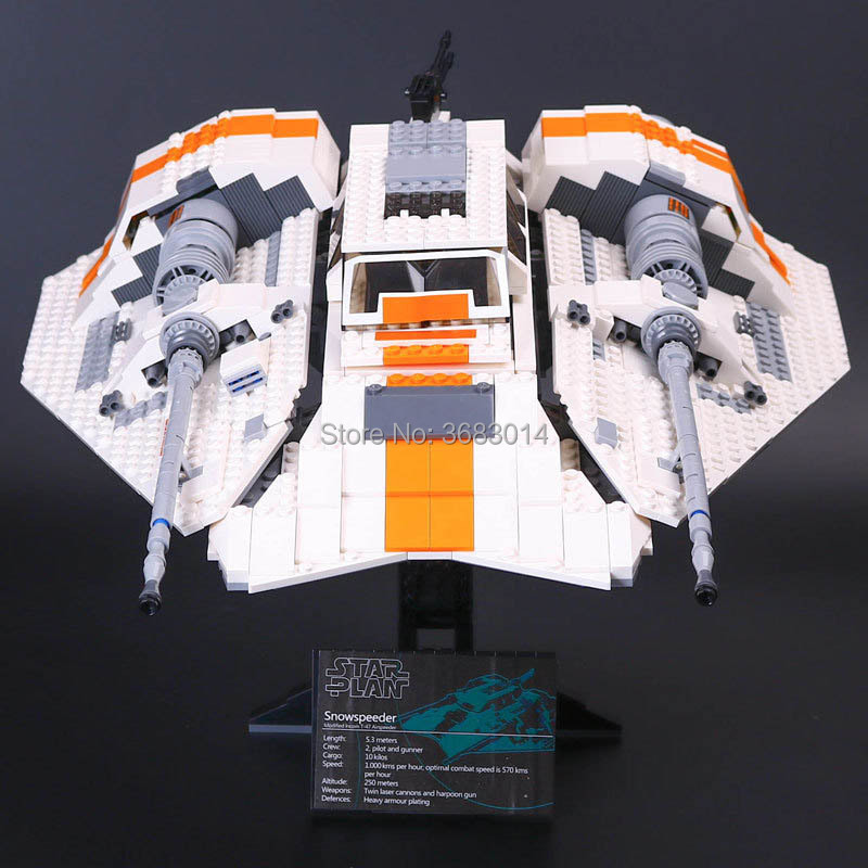 1457pcs Star Wars Series Building Blocks toy 05084 The Snowspeeder Set Model block Bricks gifts toys for children tbbt block set sheldon leonard the big bang theory bernadette rajesh howard amy penny building blocks set model bricks toy