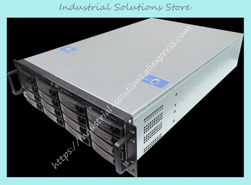 NEW 3U660MM16 HOT-SWAP storage monitoring Computer case Server Chassis big promotion 100