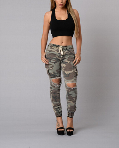 Popular Womens Camo Jeans-Buy Cheap Womens Camo Jeans lots ...