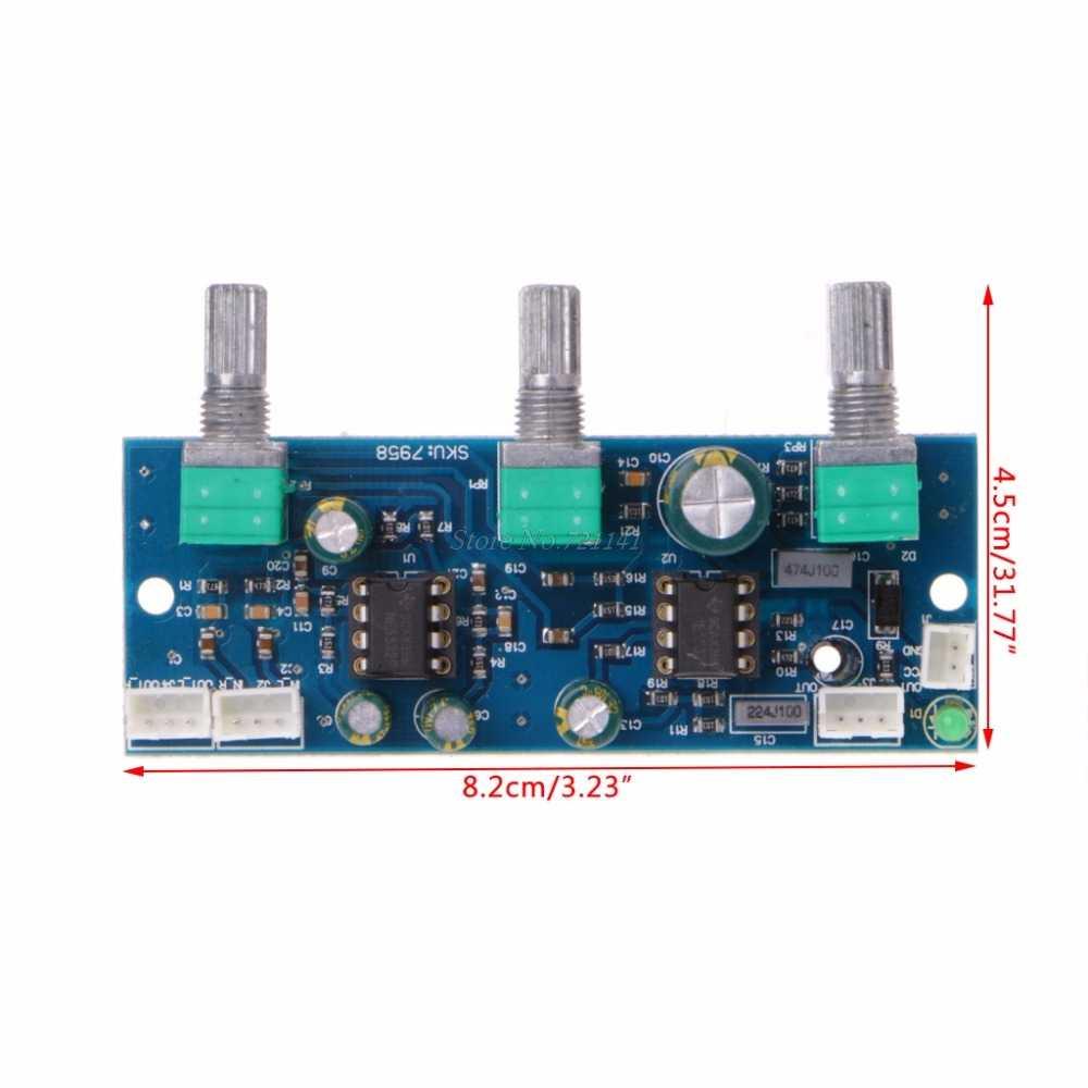 Dc 12-24V NE5532 2.1 Kanal Subwoofer Tiefpassfilter Vorverstärker lg