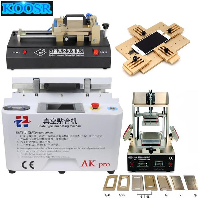 Full set AK PRO OCA lamination machine refurbish LCD repair+TBK ...