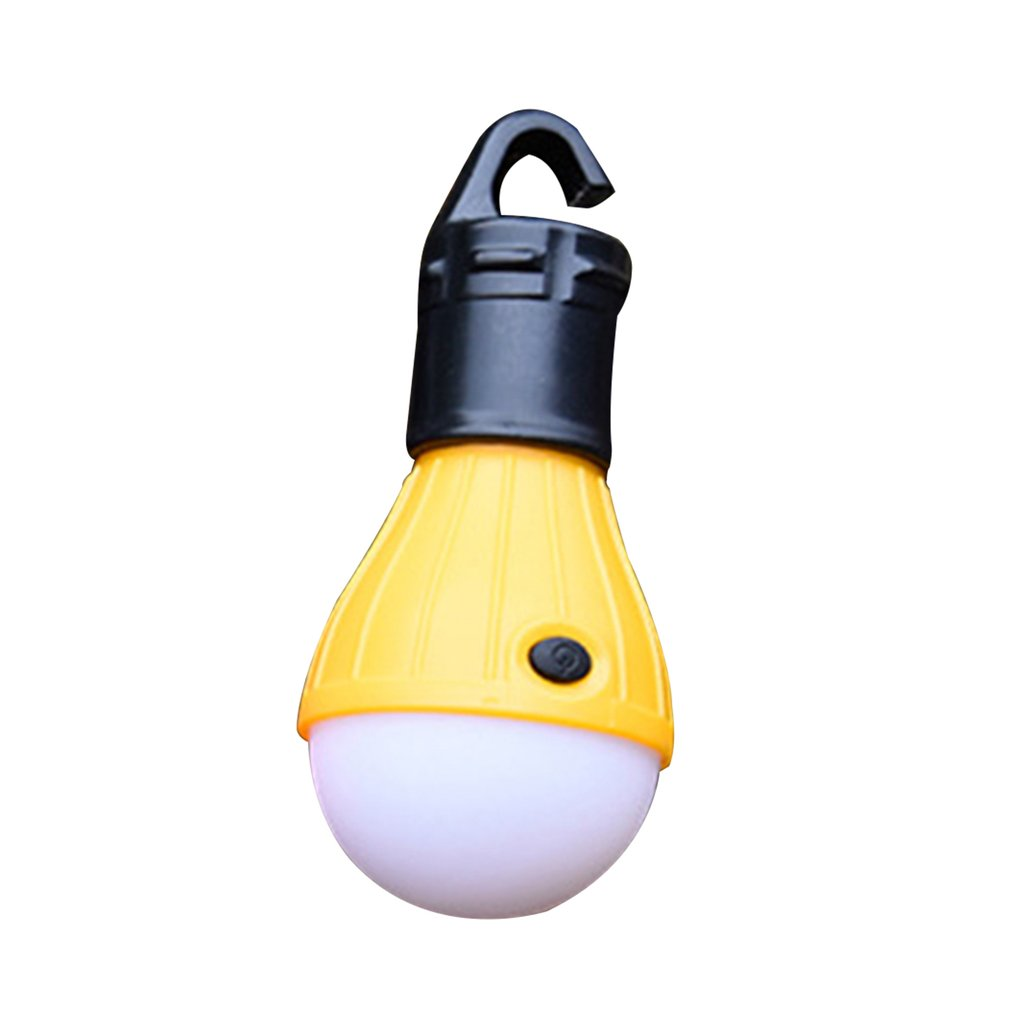 Mini Portable Lantern Tent Light Lamp LED Emergency Lamp Waterproof Hanging Hook Flashlight For Outdoor Camping