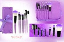 Beauty Girl 1 Set/7 PCS Fashion Professional Portable Wood Cosmetic Makeup Brush Tool Oct 20
