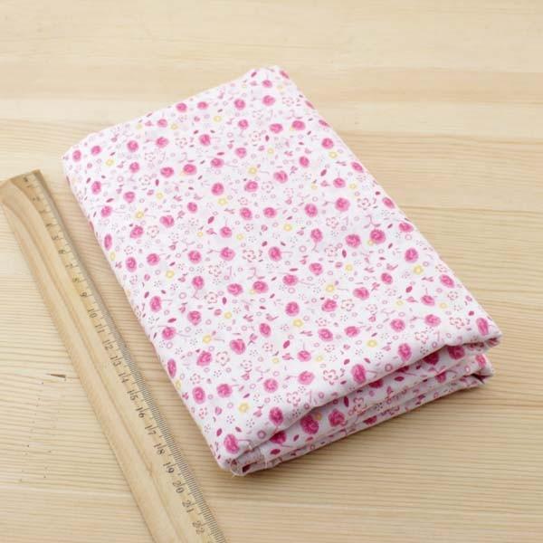 Booksew 7 pcs 50 cm x 50 cm Pink katun kuartal lemak tilda boneka - Seni, kerajinan dan menjahit - Foto 4