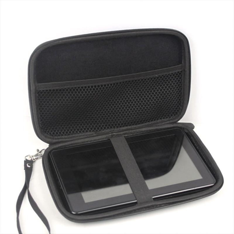 OOTDTY 7 Inch Hard Shell Carry Bag Zipper Pouch Case For Garmin Nuvi TomTom Sat Nav GPS