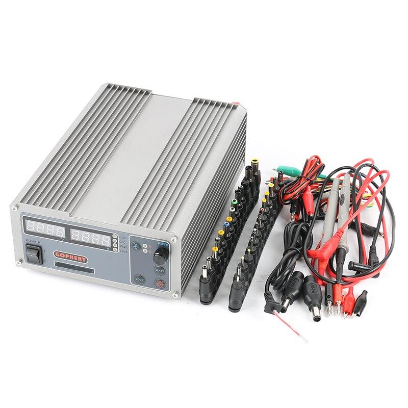 Cps-6011 Мини Регулируемая компактный высокое Мощность Цифровой DC Питание 60 В 11a лаборатории Питание + DC JACK Набор для телефона ремонт
