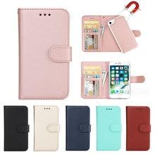 Luxury Flip Leather Wallet 2 in 1 Phone
