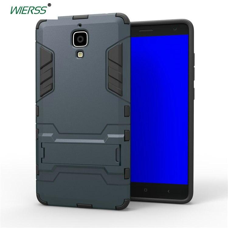 competitive price 4c0c6 ef34a US $3.99  for Xiaomi Mi4W Mi 4W 3D Shockproof Stand Hard case for Xiaomi Mi  8 SE Mi8 Mi4 Mi5 Mi6 Mi 6 4 5 pro Armor case Back cover-in Phone Pouch ...