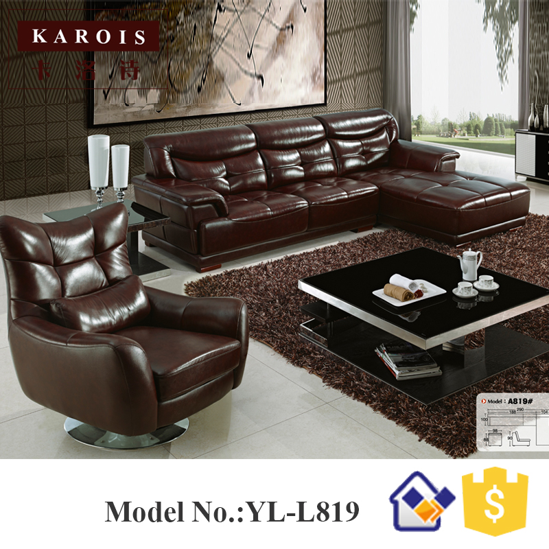 Wholesale China Online Buy Latest Sectional Corner Sofa Design L Shape 5 Seats Sofas Set Luxury Beautiful Soft