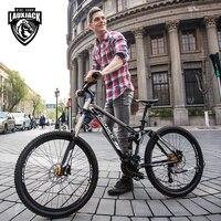 27 скоростей Алюминий сплав 26 дюйм(ов) Горные Горный велосипед, двойной масло тормозного диска, полный Подвеска