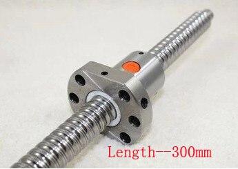 Vis à billes Acme SFU1605 pas 5mm longueur 300mm avec écrou à billes CNC pièces d'imprimante 3D