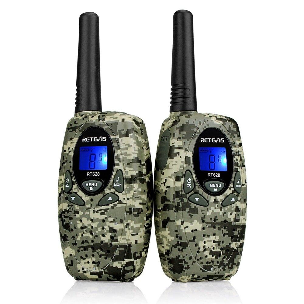 2 pz Retevis RT628 Giocattolo Walkie Talkie Mini Per Bambini Radio 0.5 w PMR PMR446 FRS GMRS 8/22CH VOX bambini 2 Way Radio Ricetrasmettitore Regalo