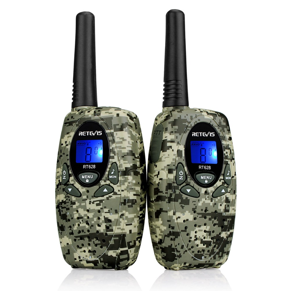 2 stücke Retevis RT628 Spielzeug Walkie Talkie Mini Kinder Radio 0,5 watt PMR PMR446 FRS GMRS 8/22CH VOX kinder 2 Way Radio Transceiver Geschenk