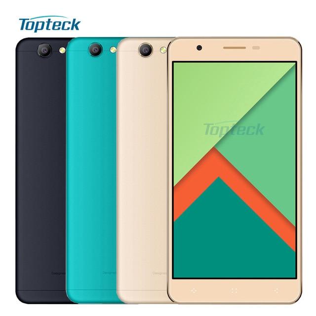 "ELEPHONE C1X 4G Fingerprint Smartphone 5.5"" HD 1280*720 Android6.0 MTK6737 Quad Core Cellphone 2GB+16GB 8MP 2500mAh Mobile Phone"