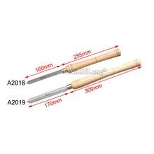 цена на 1PCS High Speed Steel A2018/A2019 Woodworking Knife Cutter Diamond Knife HSS Woodworking Tools JF1679