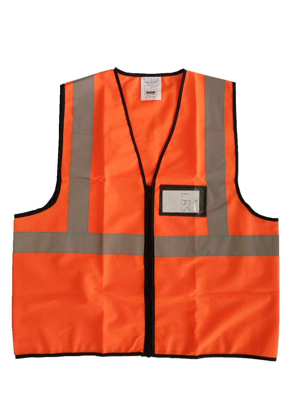 Reflective Vest High Visibility Safety Vest with Pockets Outdoor fluorescence yellow high visibility