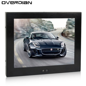 PC Monitor 8.4inch VGA Interface Non- Touch Screen Industrial Control Lcd Monitor/Display Metal Shell Hanger Mounting 4:3