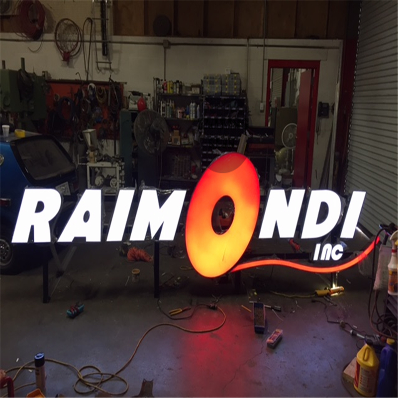 Factoy Outlet Outdoor Acrylic LED Sign For Advertising