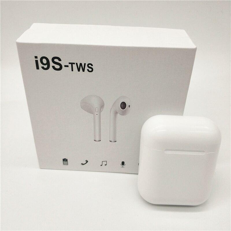 5c3f690e6d8 Cheap I9S TWS auriculares Bluetooth inalámbricos Mini magnéticos con caja  de carga mini auriculares estéreo para