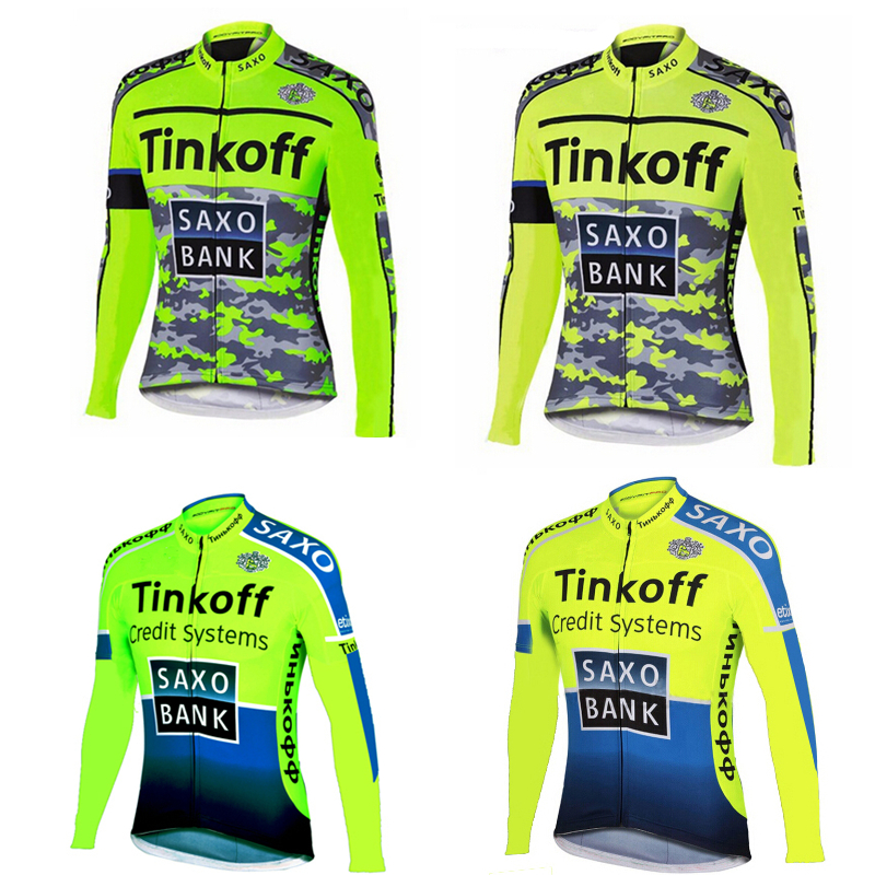 Saxo Bank Tinkoff 2017 Breathable Long Sleeve Cycling Jersey/bicycle Cycling Clothing Ropa Ciclismo bicicleta bike jersey tinkoff saxo bank cycling jersey ropa clismo hombre abbigliamento ciclismo men s cycling clothing mtb bike maillot ciclismo d001