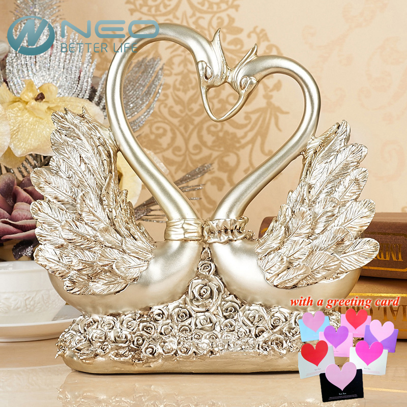 ... Decor Wedding Gift Sculpture Living Room Decoration from Reliable