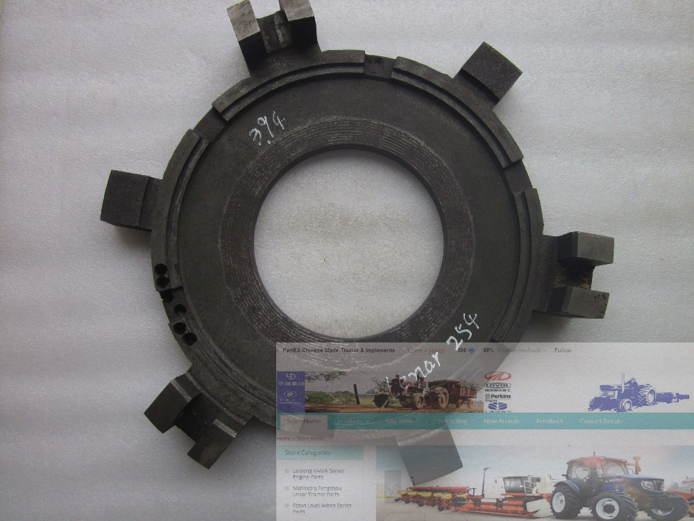 Fengshou Lenar 254 tractor parts, the clutch pressure plate, part number: 9210202BBD