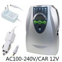 Генератор озона 220V 110V 12V стерилизатор очиститель воздуха, очистка фруктов овощей воды приготовления пищи озонатор ионизатор